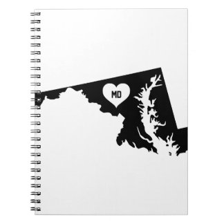 Maryland Love Notebooks