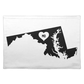 Maryland Love Placemat