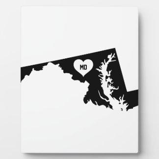 Maryland Love Plaque