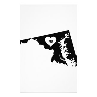 Maryland Love Stationery