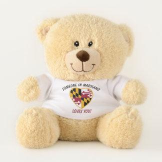 Maryland Loves You Teddy Bear
