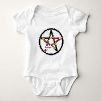Maryland Pagan transparent Baby Bodysuit