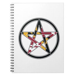 Maryland Pagan transparent Notebooks