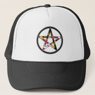 Maryland Pagan transparent Trucker Hat