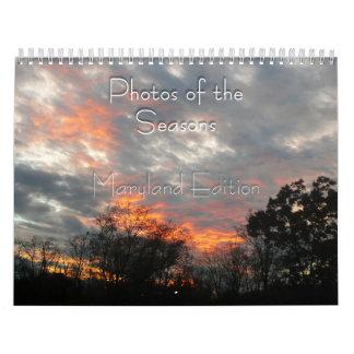 Maryland Photos of the Seasons Wall Calendars