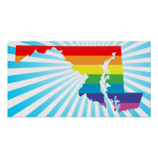maryland pride. poster