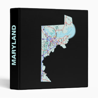 Maryland Road Map Avery Binder