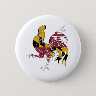 Maryland Rooster 2 Inch Round Button