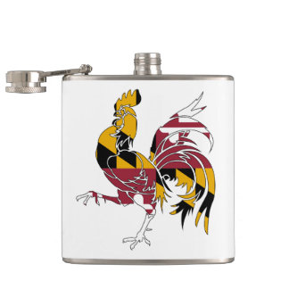 Maryland Rooster Flasks