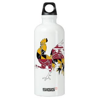Maryland Rooster Water Bottle