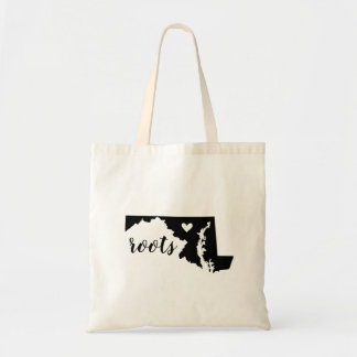 Maryland Roots State Tote Bag