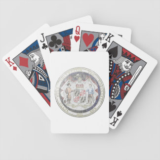 Maryland Seal Bicycle Playing Cards