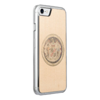 Maryland Seal Carved iPhone 8/7 Case