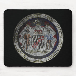 Maryland Seal Mouse Pad