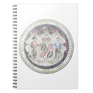 Maryland Seal Notebook