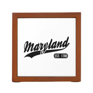 Maryland State Desk Organizer