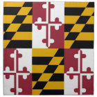 Maryland State Flag American MoJo Napkin
