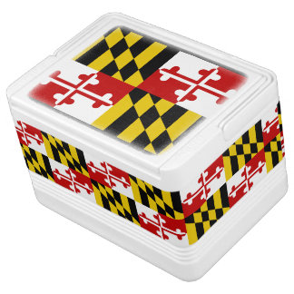 Maryland State Flag Cooler