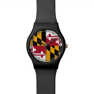 Maryland State Flag Design Watches