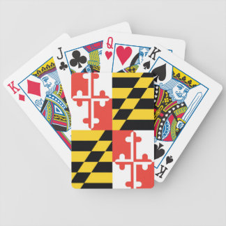 Maryland State Flag Playing Cards