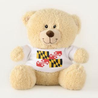Maryland State Flag Teddy Bear