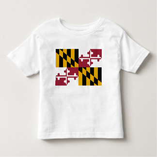 Maryland State Flag Toddler T-shirt