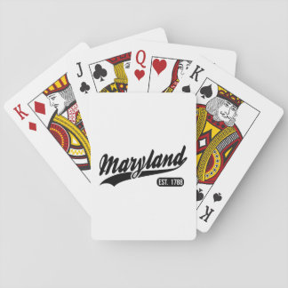 Maryland State Poker Deck