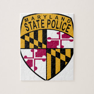 Maryland State Police Jigsaw Puzzle
