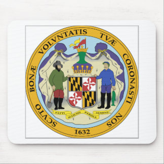 Maryland State Seal Mouse Pad