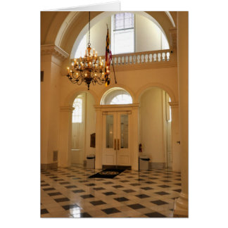 Maryland Statehouse in Annapolis Card