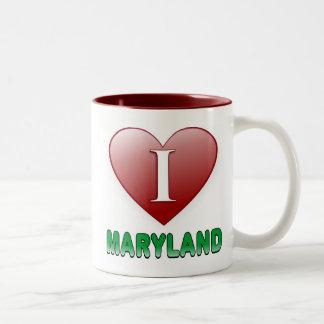 Maryland Two-Tone Coffee Mug