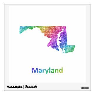 Maryland Wall Sticker