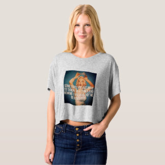 "Marylin Monroe ""Vintage"" Quote Tee"