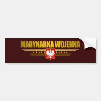 Marynarka Wojenna (Polish Navy) Bumper Sticker