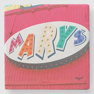 Mary's, EAV, East Atlanta Village, Atlanta Coasste Stone Coaster