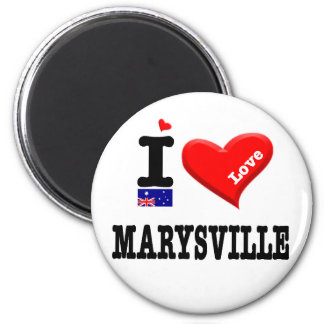 MARYSVILLE - I Love Magnet