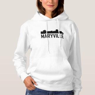 Maryville Tennessee City Skyline Hoodie