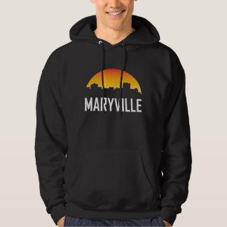 Maryville Tennessee Sunset Skyline Hoodie