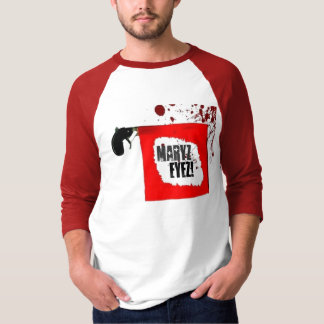 Maryz Eyez: Bang! - 3/4 Sleeve Raglan T-Shirt