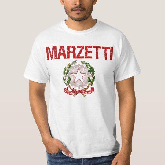 Marzetti Italian Surname T-Shirt