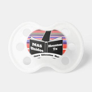 MAS Unidos HTX Serape Baby Pacifiers