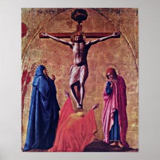 Masaccio - Crucifixion of Christ Poster