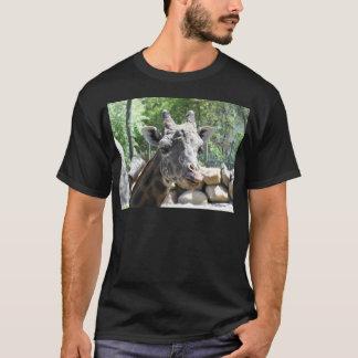 Masai Giraffe Close Up Portait T-Shirt