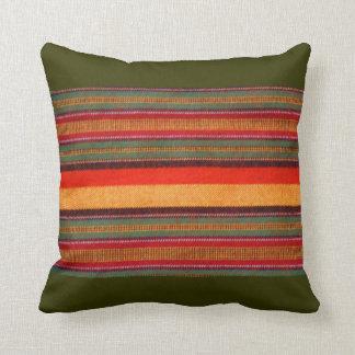 Masai Shuka Blanket Throw Pillow