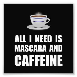 Mascara And Caffeine Photograph