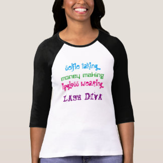 Mascara Lash Diva Version 2 T-Shirt