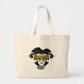 Maschera-Veneziana Large Tote Bag