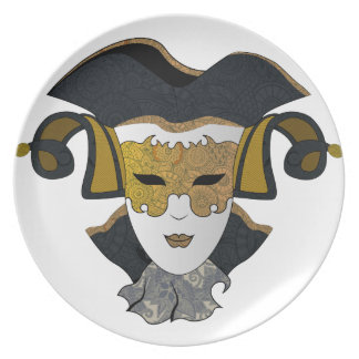 Maschera-Veneziana Plate