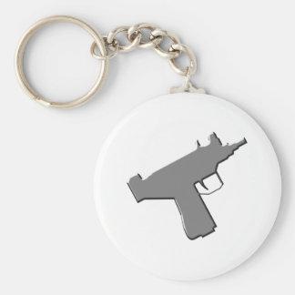 Maschinenpistole machine pistol Uzi Schlüsselband