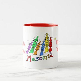 mascletà Two-Tone coffee mug
